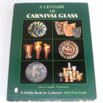 Click here to enlarge image and see more about item 9270: A Century of Carnival Glass Collector's Identification Book