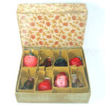 Box 1928 Noma Dresden Glass Christmas Light Covers