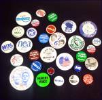 Click to view larger image of 1976 Democratic Convention Autographed Hat With Political Campaign Pinbacks (Image4)
