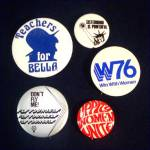 Click to view larger image of 1976 Democratic Convention Autographed Hat With Political Campaign Pinbacks (Image7)