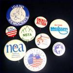 Click to view larger image of 1976 Democratic Convention Autographed Hat With Political Campaign Pinbacks (Image8)
