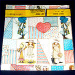 Click to view larger image of 2 Packages Vintage Holly Hobbie Gift Wrap Paper (Image3)