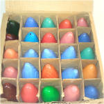 Click to view larger image of Box C-9 Christmas Colored Light Bulbs Including Swirl Flame (Image2)