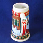 Click to view larger image of Budweiser 1993 Annual Christmas Stein Hometown Holiday (Image4)
