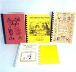 Click here to enlarge image and see more about item 9957: Lot of 5 Idaho Cookbooks, Politicians and Politically Incorrect
