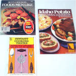 Click to view larger image of Lot 13 Vintage Theme Cookbooks and Recipe Booklets 1915 - 1976 (Image4)
