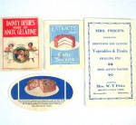 Click to view larger image of Lot 13 Vintage Theme Cookbooks and Recipe Booklets 1915 - 1976 (Image6)