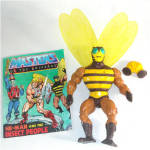 Click here to enlarge image and see more about item 9973: Buzz-Off 1984 He-Man Masters of the Universe Action Figure
