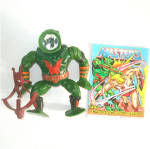 Click here to enlarge image and see more about item 9975: Leech 1985 He-Man Masters of the Universe Action Figure