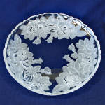 Click to view larger image of Studio Nova Mikasa Winter Rose 12 Inch Bowl and Platter Tray (Image2)