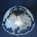 Click to view larger image of Studio Nova Mikasa Winter Rose 12 Inch Bowl and Platter Tray (Image4)
