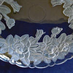 Click to view larger image of Studio Nova Mikasa Winter Rose 12 Inch Bowl and Platter Tray (Image5)