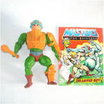 Click here to enlarge image and see more about item 9988: Man At Arms 1982 He-Man Masters of the Universe Action Figure