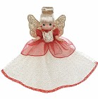 Precious Moments 12 In. Christmas Blessings Tree-Top Angel 2012