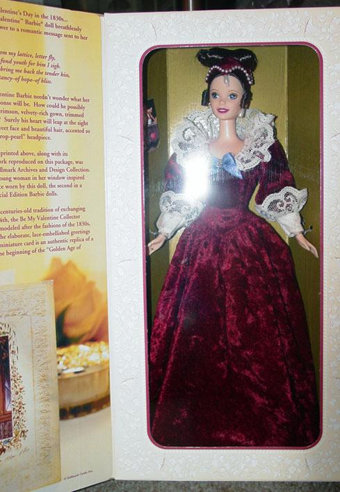 Mattel Hallmark Sentimental Valentine Barbie Doll 1996 Barbie Dolls Accessories Collectibles Other Mattel Dolls At Donna S Korner Kollectibles