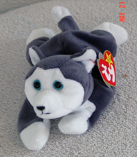 6056316322d Collector Online   Donna s Korner Kollectibles   Our Bean Bag and Plush  Showcases   Ty Beanie Babies   Ty Nanook the Husky Beanie Baby 1997-1999