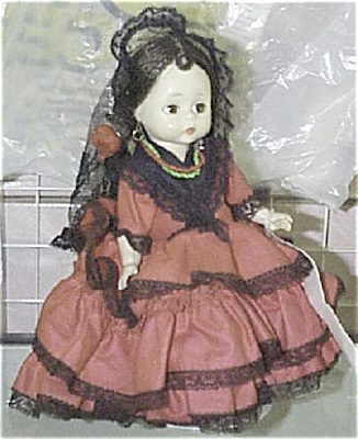 Madame Alexander Bending Knee Spanish Girl Doll (Image1)