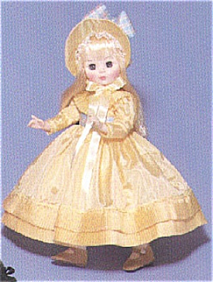 1989 Madame Alexander Ingres Doll in Yellow (Image1)