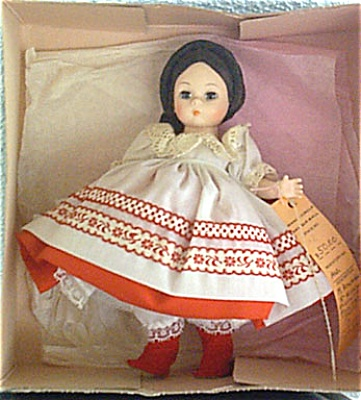 Madame Alexander Russian Girl Doll, Mid 1980s (Image1)