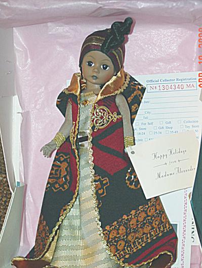 Madame Alexander Nomsa Celebrates Kwanza Doll 1995 (Image1)