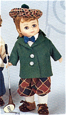 1998 Madame Alexander Golf Boy Doll with Maggie Face (Image1)