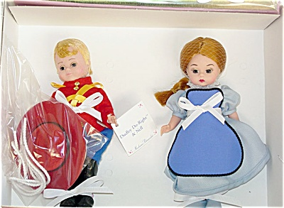 Madame Alexander Dudley Do-Right and Nell Doll Set 1999 (Image1)