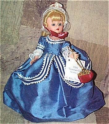 2000 Madame Alexander 1954 Victorian Girl Cissette Doll (Image1)