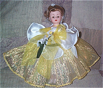 Madame Alexander Yellow Daffodil Cissette Doll 2000 (Image1)