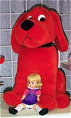 Madame Alexander Emilie Elizabeth Doll and Clifford Dog 2000 (Image1)