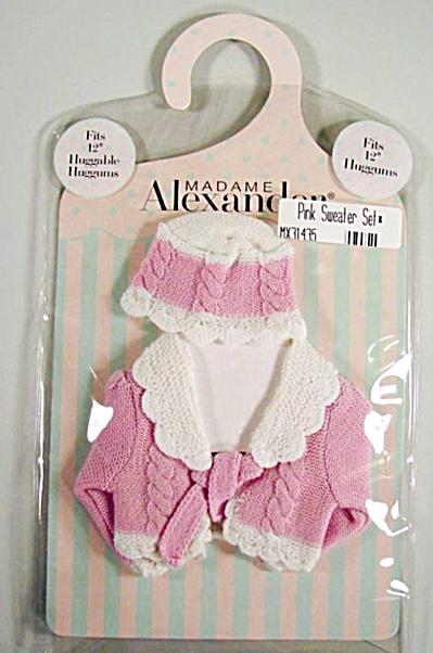 Madame Alexander 12 Inch Huggums Doll Pink Sweater Set 2002 (Image1)