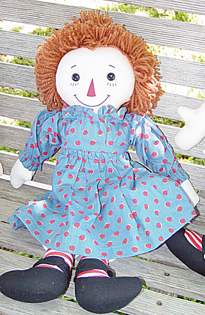 Applause 85th Birthday Collector Raggedy Ann Doll 1999 (Image1)