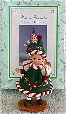 Madame Alexander Santa's Little Helper Elf Figurine (Image1)
