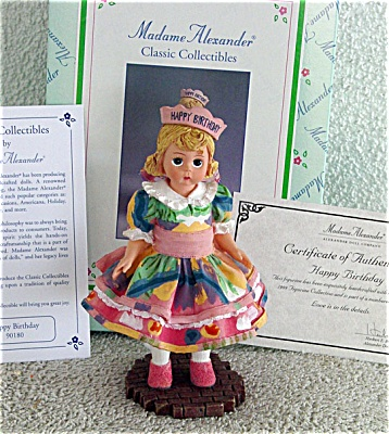 1999 Madame Alexander Happy Birthday Wendy Figurine (Image1)