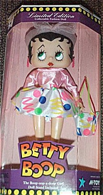 Marty Toy Vinyl Betty Boop Disco Date Doll c.1995 (Image1)
