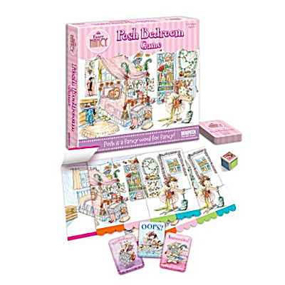 Fancy Nancy Posh Bedroom Game (Image1)