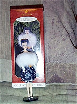 Hallmark Gay Parisienne Barbie Ornament 1998 (Image1)