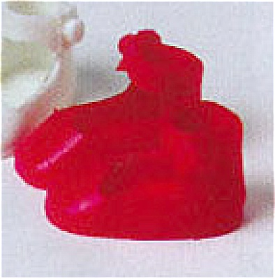 Red Tiny Betsy McCall Doll Shoes (Image1)