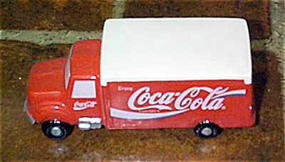 Enesco Coca Cola Delivery Truck Figurine 1993-1994 (Image1)