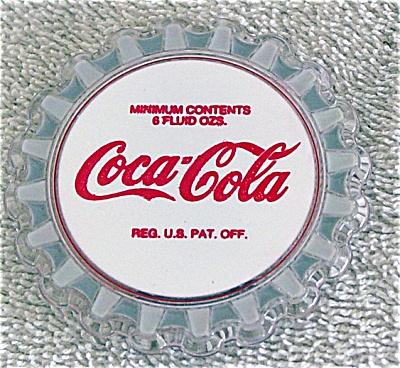 Enesco Coca Cola Vintage Bottle Cap Magnet 1993 (Image1)