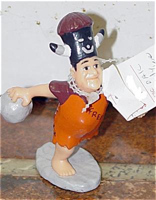Dakin PVC Fred Flintstones Figure Bowling 1994 (Image1)
