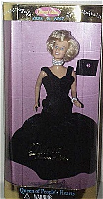 Street Players Princess Diana Doll in Black Formal 1997 (Image1)