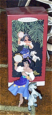 Disney Hallmark Esmeralda Ornament from Hunchback 1996 (Image1)