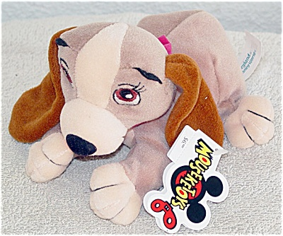 Disney Mousketoys Lady Mini- Bean Bag c. 1997-1998 (Image1)