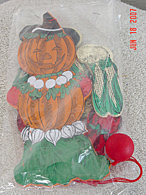 Halloween Jack-O-Lantern Pumpkin Scarecrow Jumping Jack (Image1)