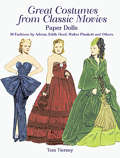 Great Costumes From Classic Movies Paper Dolls, Tierney