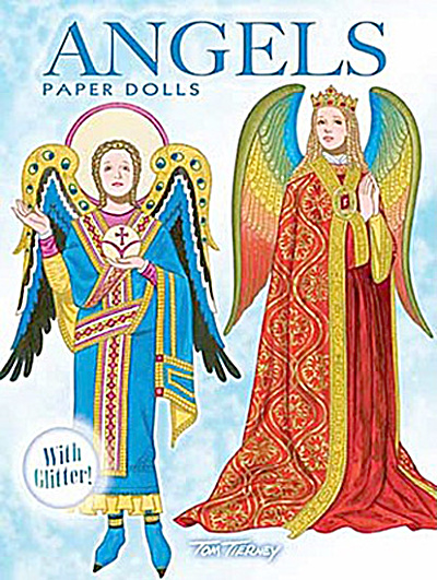 Angels Paper Dolls with Glitter, Tierney, Dover, 2010 (Image1)