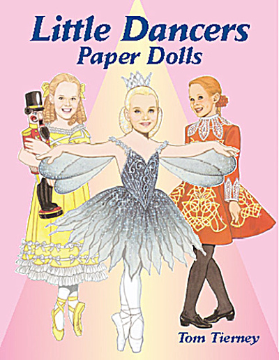 Little Dancers Paper Dolls, Tierney, Dover, 2002 (Image1)