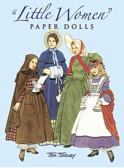 Little Women Paper Dolls, Tierney, Dover, 1994 (Image1)