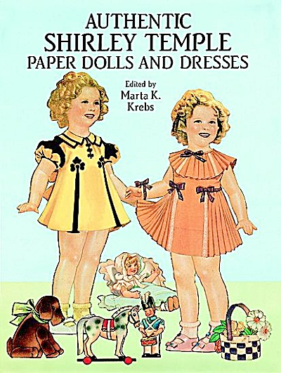 Authentic  Shirley Temple Paper Dolls in Full Color, Dover (Image1)