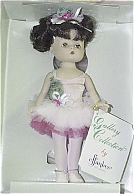 Effanbee 1995 L'il Innocents Stacy Ballerina Doll (Image1)